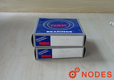NSK 7211A Angular Contact Ball Bearings