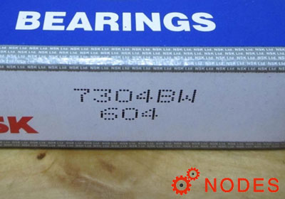 NSK 7304B Angular Contact Ball Bearings
