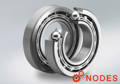 NSK Angular Contact Ball Bearings with L-PPS Cage