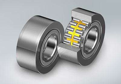 NSK Sealed Backup Long-life Roll Bearings