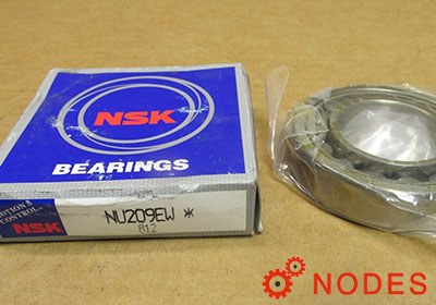 NSK NU209EW Cylindrical roller bearings