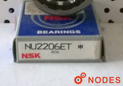NSK NU2206ET Cylindrical roller bearings
