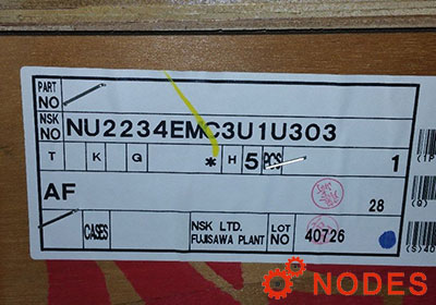 NSK NU2234EMC3 Cylindrical roller bearings