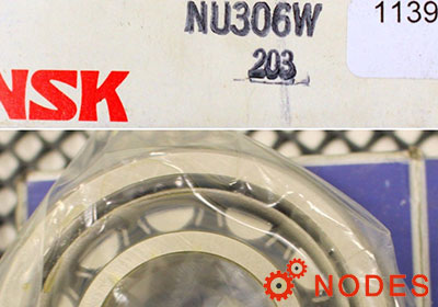 NSK NU306EW Cylindrical roller bearings