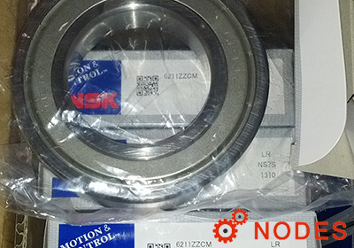 NSK 6211ZZ Deep groove ball bearings