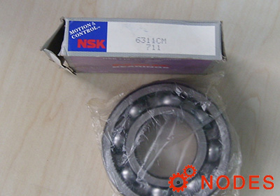 NSK 6311 Deep groove ball bearings