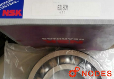 NSK 6318 Deep groove ball bearings