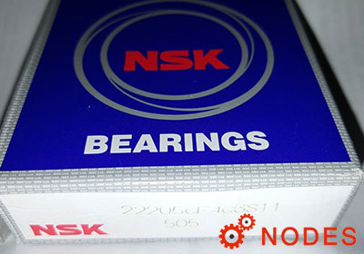 NSK 22205CE4C3 Spherical roller bearings | 25x52x18.0mm