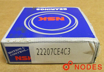 NSK 22207CE4C3 Spherical roller bearings | 35x72x23.0mm