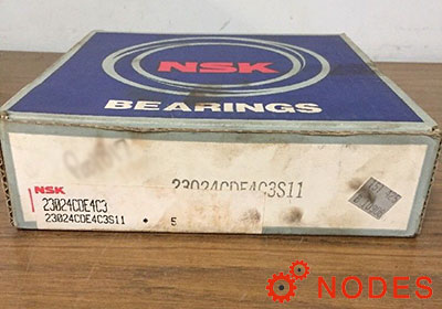 NSK 23024CDE4C3 Spherical roller bearings | 120x180x46.0mm
