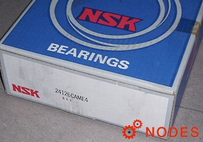 NSK 24126CAME4 Spherical roller bearings