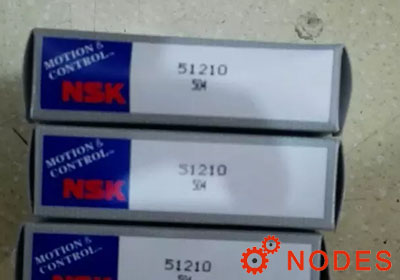 NSK 51210 Thrust Ball Bearings