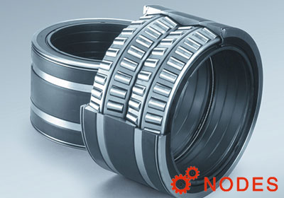 NSK Sealed-Clean Four Row Taper Roller Bearings