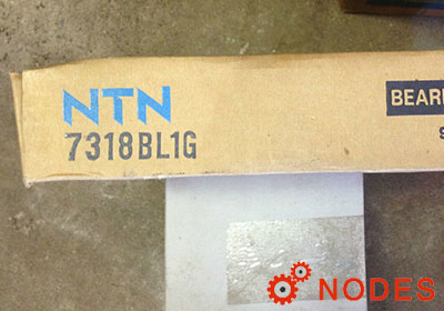 NTN 7318B bearings | 90x190x43m