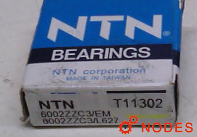 NTN 6002ZZC3 bearings | 15x32x9mm