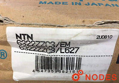 NTN 6322ZZC3 bearings | 110x240x50mm