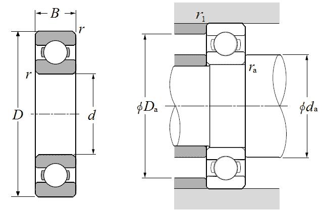 NTN 6034 bearings | 170x260x42mm - Nodes bearing
