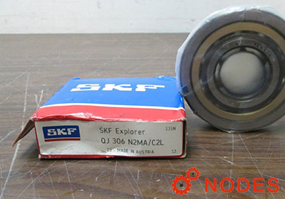 SKF QJ306N2MA ball bearings