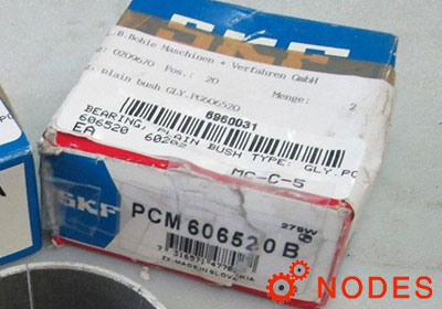 SKF PCM606520E bushings | 60mm x 65mm x 20mm