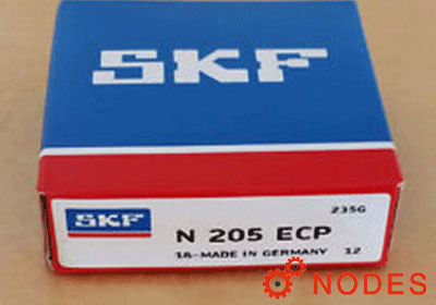SKF N 205 ECP cylindrical roller bearings