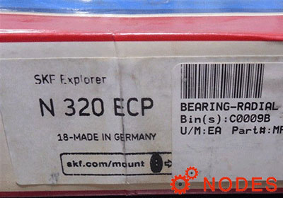 SKF N 320 ECP cylindrical roller bearings