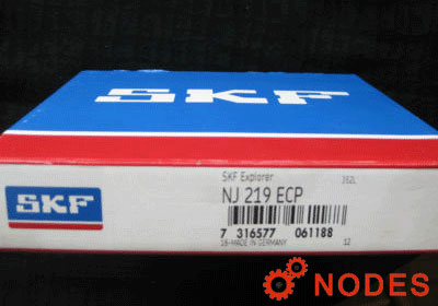 SKF NJ219ECP cylindrical roller bearings