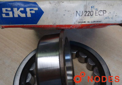 SKF NJ220ECP cylindrical roller bearings