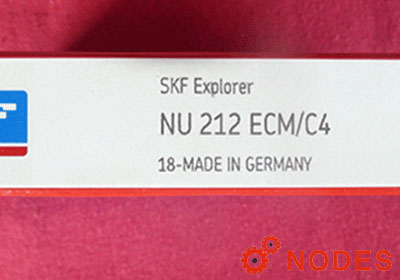 SKF NU212ECM cylindrical roller bearings