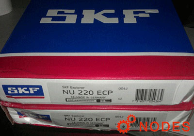 SKF NU220ECP cylindrical roller bearings