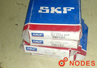 SKF NU2216ECP cylindrical roller bearings