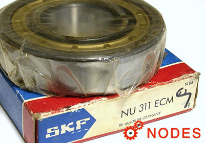 SKF NU311ECM cylindrical roller bearings