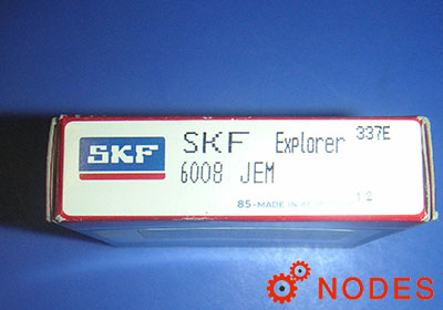 SKF 6008 single row deep groove ball bearings