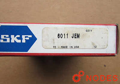 SKF 6011 single row deep groove ball bearings