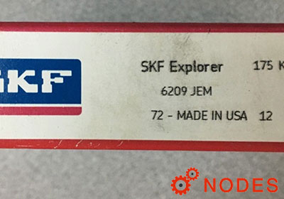 SKF 6209 single row deep groove ball bearings
