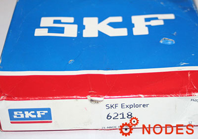 SKF 6218 single row deep groove ball bearings