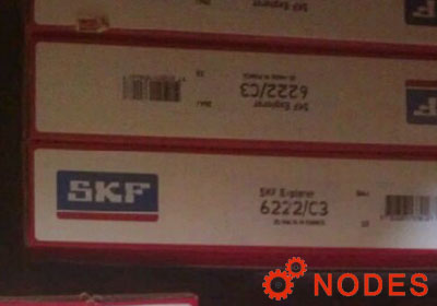 SKF 6222 single row deep groove ball bearings