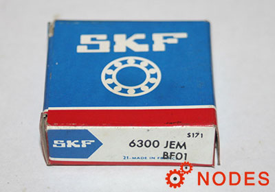 SKF 6300 single row deep groove ball bearings