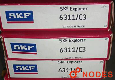 SKF 6311 single row deep groove ball bearings