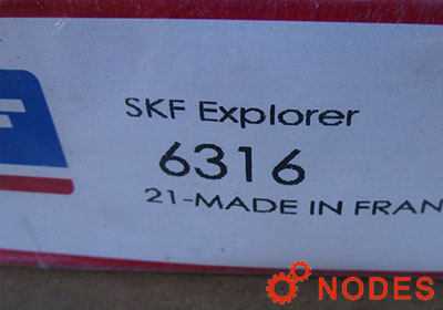 SKF 6316 single row deep groove ball bearings