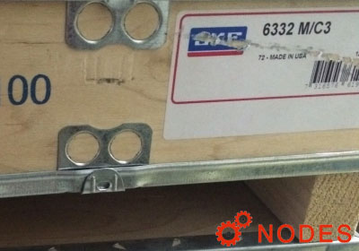 SKF 6332 single row deep groove ball bearings
