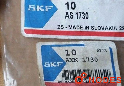 SKF AXK1730 thrust needle bearings | 17x30x2mm