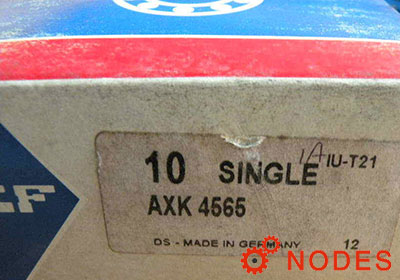 SKF AXK4565 thrust needle bearings | 45x65x3mm