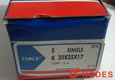 SKF K30x35x17 needle bearings