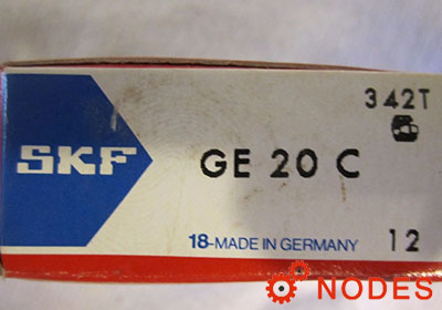 SKF GE20C spherical plain bearings | 20x35x16mm