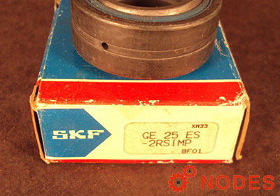 SKF GE25ES-2RS spherical plain bearings | 25x42x20mm