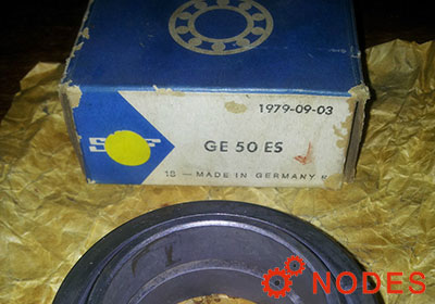 SKF GE50ES spherical plain bearings | 50x75x35mm