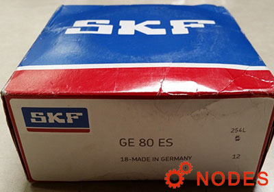 SKF GE80ES spherical plain bearings | 80x120x55mm