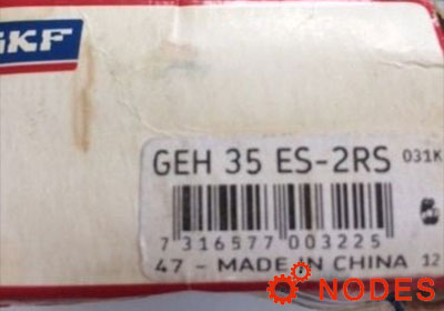 SKF GEH35ES-2RS spherical plain bearings | 35x62x35mm