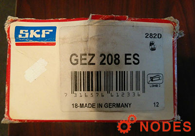 SKF GEZ208ES spherical plain bearings | 63.5x100.013x55.55mm
