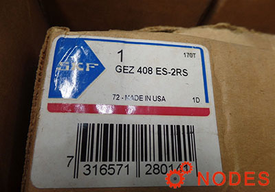 SKF GEZ408ES-2RS spherical plain bearing | 114.3x177.8x100mm